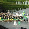 La délégation du Brésil aux Jeux Olympiques de Londres. Juillet 2012.