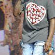 """Concert de Pharrell Williams lors du festival de musique le """"British Summertime"""" à Londres le 10 juillet 2016."""