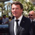 L'ex-maire de Nice Christian Estrosi - Hommage national aux victimes de l'attentat de la Promenade des Anglais à Nice qui a fait 84 morts. Le 18 juillet 2016
