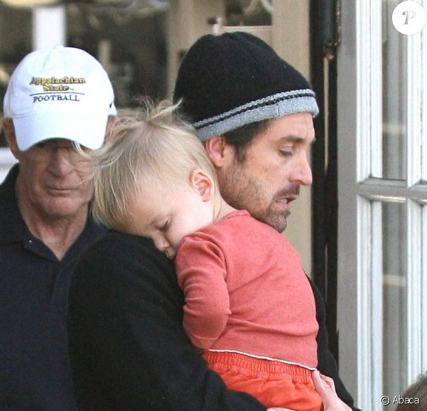 Patrick Dempsey et ses enfants