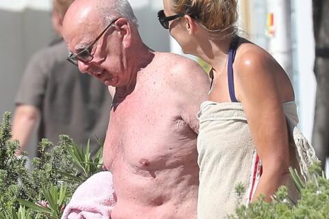 Jerry Hall et Rupert Murdoch en vacances : Ils nagent en plein bonheur !