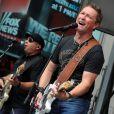 Craig Morgan en concert pour la chaîne Fox New, à New York le 13 juillet 2012.