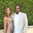 "Bobby Brown et sa femme Alicia Etheredge au 1er gala ""Legends Beyond"" a Los Angeles. Le 19 septembre 2013"