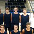 Equipe espoirs de Rouen : Jérémie Douillet, au milieu en haut