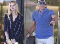 Antonio Banderas et sa sublime fille Stella : Journée shopping complice