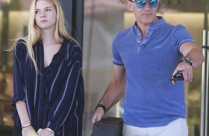 Antonio Banderas et sa sublime fille Stella : Journée shopping complice