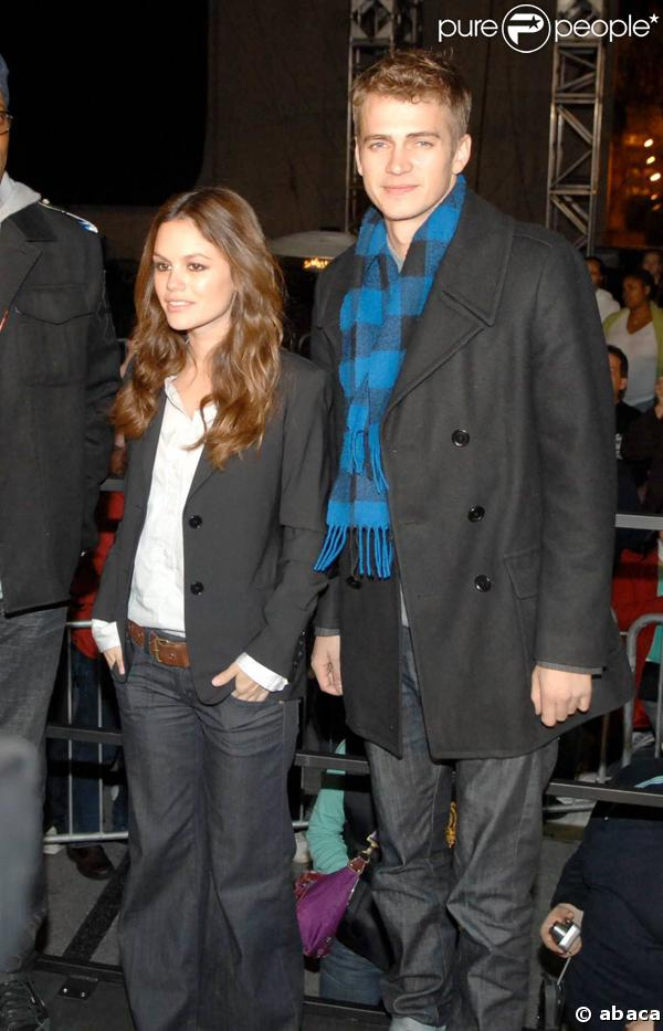 Hayden Christensen et Rachel Bilson à Las Vegas