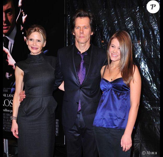 Kyra Sedgwick, Kevin Bacon et Sosie Bacon