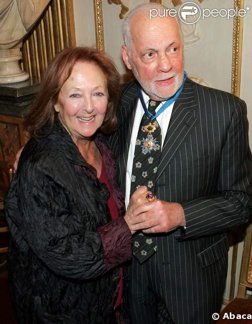 Michel et Nita Serrault