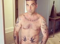 Robbie Williams loufoque, filmé nu par sa femme Ayda...