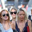 Semi-exclusif - Lindsay Lohan en vacances avec des amis sur un yacht en Sardaigne, après sa rupture avec Egor Tarabasov en Italie, le 26 juillet