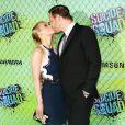 """Jim Parrack et sa femme Leven Rambinà la Première du film """"Suicide Squad"""" à New York. Le 1er août 2016"""