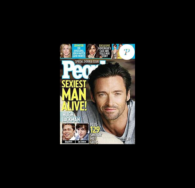 Hugh Jackman en couverture de People