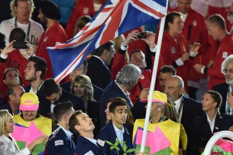 JO de Rio : Andy Murray, emprunté, fait grimacer la princesse Anne !