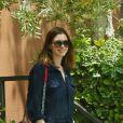 Anne Hathaway et son mari Adam Shulman emmène leur fils Jonathan chez le pédiatre à Santa Monica, le 19 mai 2016