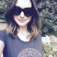 Anne Hathaway sur une photo publiée sur son compte Instagram le 2 août 2016