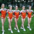 Les soeurs jumelles Lieke et Sanne Wevers au sein de l'équipe de gymnastique artistique des Pays-Bas en août 2016 lors des JO de Rio de Janeiro. Photo Instagram Sanne Wevers.