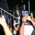 Souleyman Cissokho -Retour à Paris des athlètes français des Jeux olympiques de Rio 2016 à l'aéroport de Roissy le 23 août 2016.