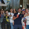 Maxime Beaumont -Retour à Paris des athlètes français des Jeux olympiques de Rio 2016 à l'aéroport de Roissy le 23 août 2016.