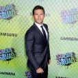 """Scott Eastwood à la première du film """"Suicide Squad"""" à New York. Le 1er août 2016"""