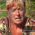 """Sophie au coeur des tensions chez les rouges - """"Koh-Lanta, L'île au trésor"""" sur TF1. Le 26 août 2016."""