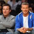 David Beckham et Jason Bateman