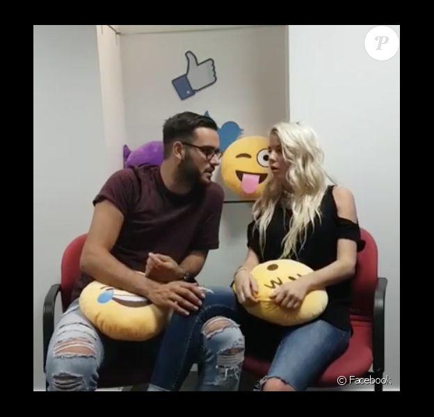 Jessica (Les Marseillais) et Nikola, en couple, s'expriment sur Facebook le 31 août 2016.