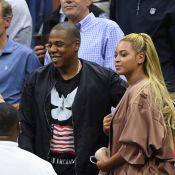 Beyoncé et Jay-Z, au premier rang pour applaudir leur copine Serena Williams
