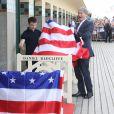 Daniel Radcliffe a inauguré la cabine à son nom sur les planches au 42e Festival du Film Américain de Deauville le 10 septembre 2016, en présence d'une importante foule de fans. Il a d'ailleurs passé 30 minutes à poser des selfies, puis encore autant en dédicaces. © Denis Guignebourg / Bestimage