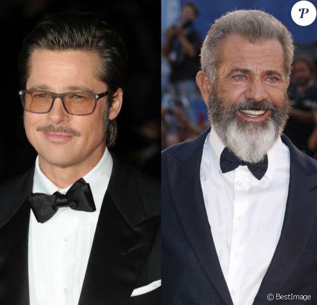 Brad Pitt vs. Mel Gibson.