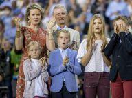 Philippe et Mathilde de Belgique : Soirée de diamant avec leurs quatre enfants