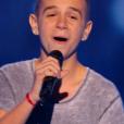 """Jason dans """"The Voice Kids"""", le 17 septembre 2016 sur TF1."""