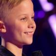 """Tom dans """"The Voice Kids 3"""", le 17 septembre 2016 sur TF1."""