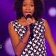 """Tamillia dans """"The Voice Kids 3"""", le 17 septembre 2016 sur TF1."""