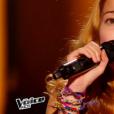 """Nina dans """"The Voice Kids 3"""", le 17 septembre 2016 sur TF1."""