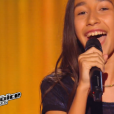 """Leena dans """"The Voice Kids 3"""", le 17 septembre 2016 sur TF1."""