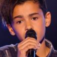 """Ayoub dans """"The Voice Kids 3"""", le 17 septembre 2016 sur TF1."""