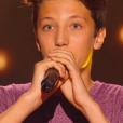 """Thomas dans """"The Voice Kids 3"""", le 17 septembre 2016 sur TF1."""