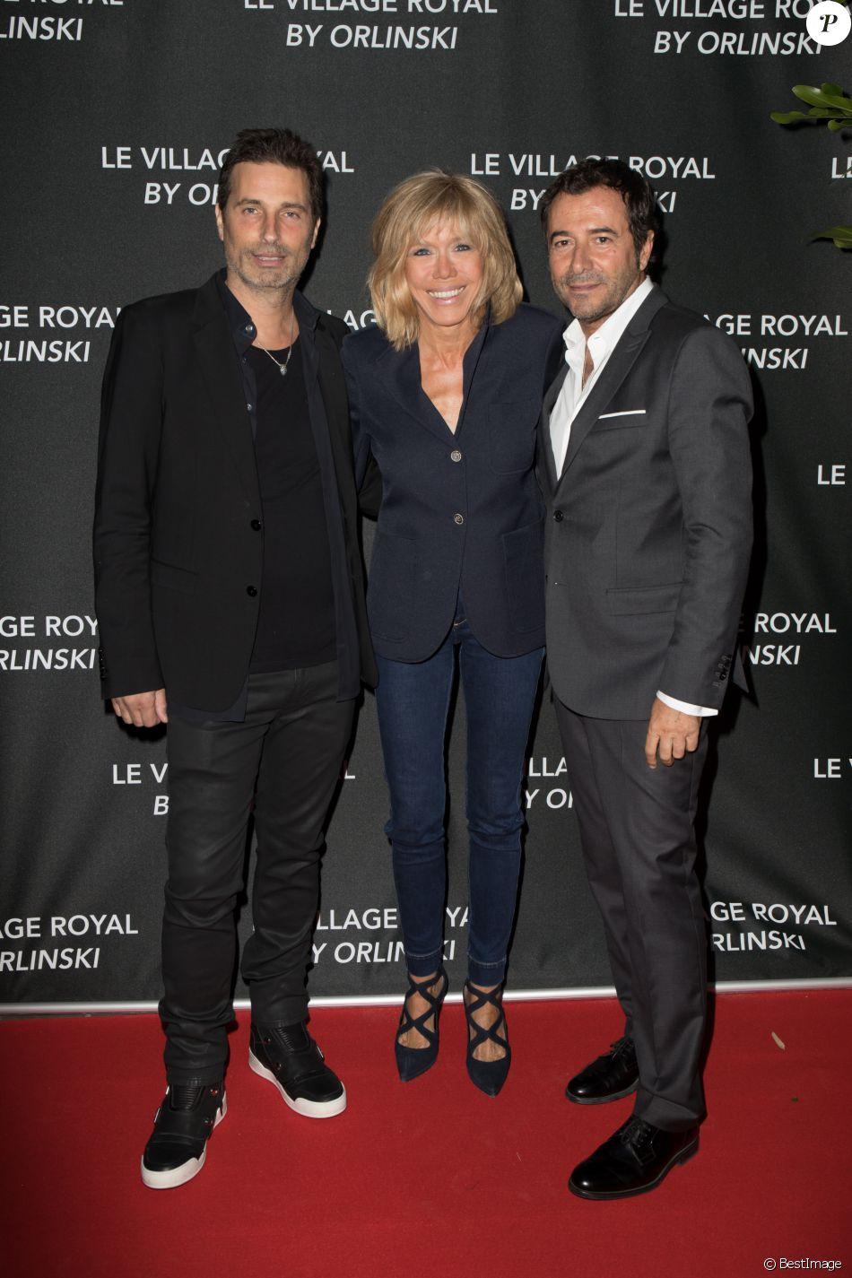 Exclusif richard orlinski brigitte macron trogneux bernard montiel l 39 inauguration du - Bernard montiel et sa compagne ...