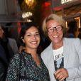 Exclusif - Saïd Javad et Ariane Massenetà l'Inauguration du Village Royal By Richard Orlinski à Paris le 15 septembre 2016. © Bellak-Moreau/Bestimage