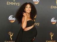 Kerry Washington : Très enceinte et radieuse aux Emmy Awards