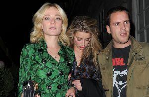 Amber Heard : Soirée festive et mine défaite, elle s'éclate avec Cara Delevingne