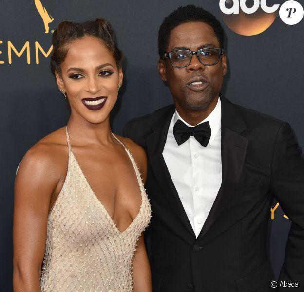 Megalyn Echikunwoke et Chris Rock - 68e Annual Primetime Emmy Awards le 18 setembre 2016 à Los Angeles