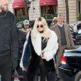 Kendall Jenner - Kendall Jenner à la sortie du restaurant l'Avenue à Paris le 3 mars 2016