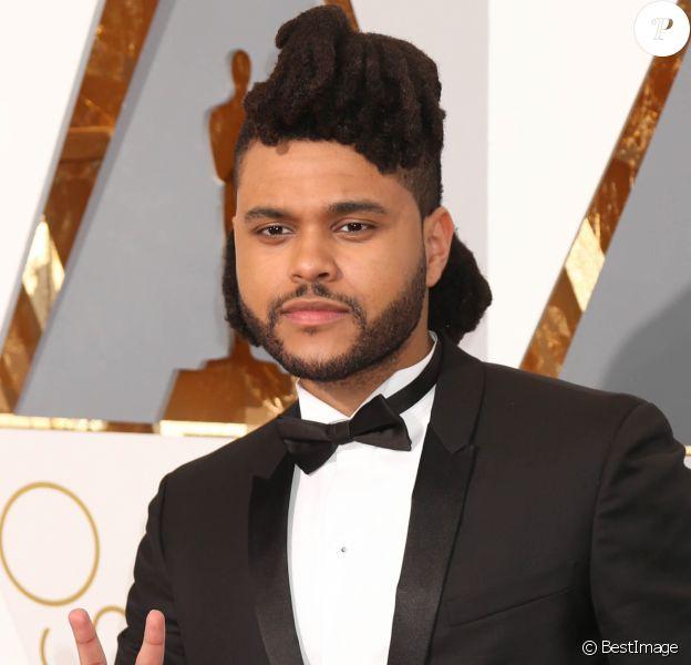 Abel Makkonen Tesfaye (The Weeknd) - Photocall de la 88ème cérémonie des Oscars au Dolby Theatre à Hollywood. Le 28 février 2016