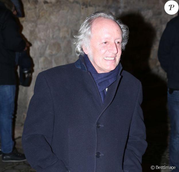 Didier Barbelivien - Sorties des invités à la fête d'anniversaire organisée à l'occasion des 60 ans de Nicolas Sarkozy à son domicile à Paris, le 30 janvier 2015.