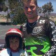 Sam Willoughby, double champion du monde et vice-champion olympique 2012 de BMX, est paralysé suite à une grave chute à l'entraînement le 10 septembre 2016 en Californie. Photo de son compte Twitter.