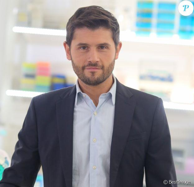 Exclusif - Christophe Beaugrand (NT1) - Tournage coulisses des spots TV du Pasteurdon à l'Institut Pasteur à Paris, le 16 juin 2016. © CVS/Bestimage