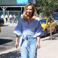 Hilary Duff se balade dans les rues de New York, le 26 septembre 2016