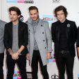 "One Direction (Zayn Malik, Liam Payne, Louis Tomlinson, Harry Styles et Niall Horan) à la Soiree ""American Music Awards 2013"" a Los Angeles, le 24 novembre 2013."